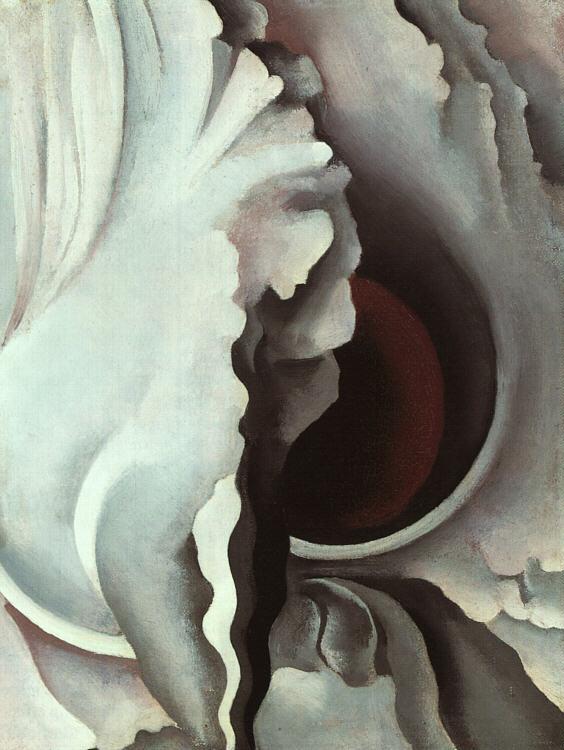 Georgia O'Keeffe Black Iris III 1926