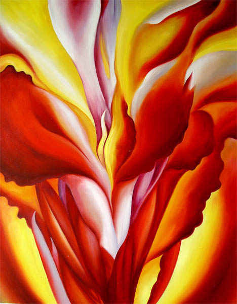 Georgia O'Keeffe Red Canna 1923