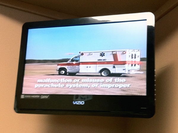 skydiving waiver ambulance