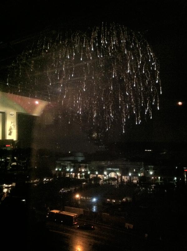 fireworks Lenox