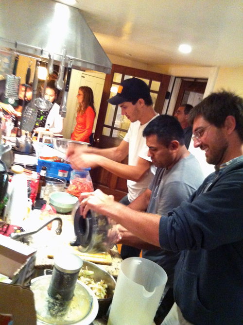 Epic cooking party