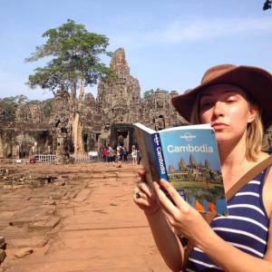 "Angkor Wat was a whole ""city"" of temples, built around 1100 A.D."